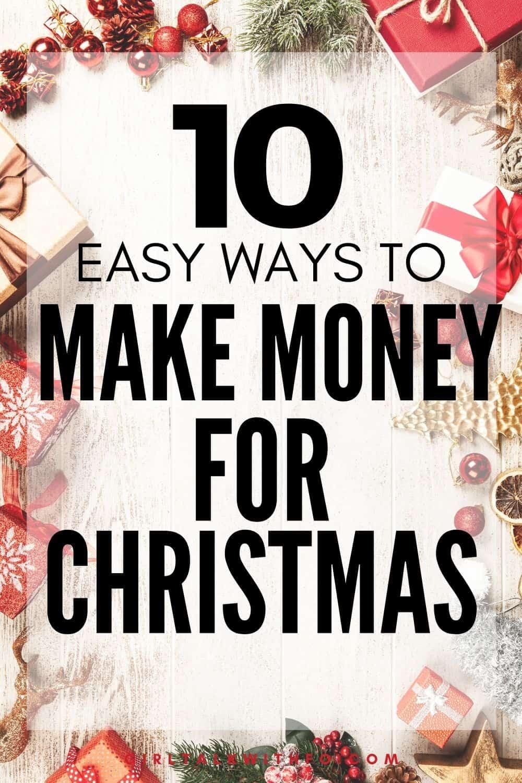 Make extra money Christmas